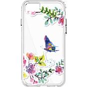 Estuche transparente con diseño de mariposas para iPhone 7/6s/6