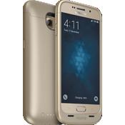 juice pack para Samsung Galaxy S 6 - Dorado