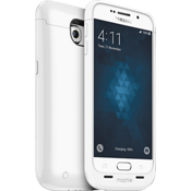juice pack para Samsung Galaxy S 6 - Blanco
