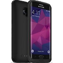 juice pack para el Samsung Galaxy S7 edge - Negro