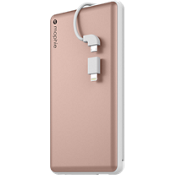 powerstation plus 12000 con cable con punta intercambiable - Color Rose Gold