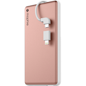 powerstation plus 6000 con cable con punta intercambiable - Color Rose Gold