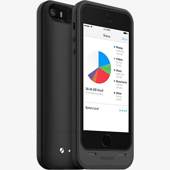space pack para iPhone 5/5s - 64 GB negro