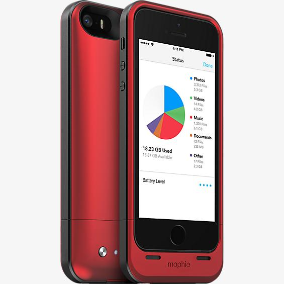 space pack para el iPhone 5s/5 - 32 GB rojo