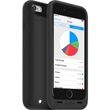 space pack de mophie para el iPhone 6/6s-32GB - Negro