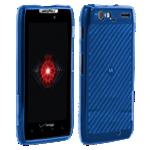 Cubierta de silicona brillante Verizon para Motorola Droid RAZR MAXX