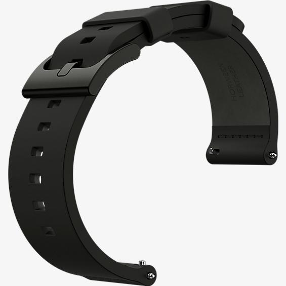 Banda para reloj Moto 360 2da gen. para hombre, 46 mm - Piel negra