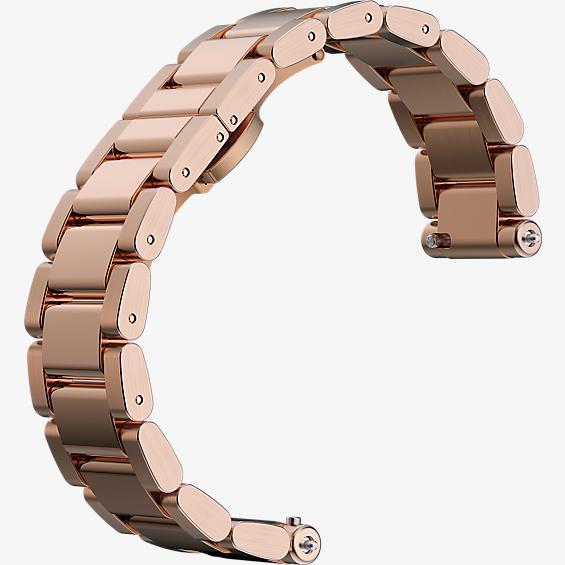 Banda para reloj para Moto 360 2da gen. para mujer - Metal color Rose Gold