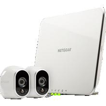 Sistema de seguridad inalámbrico Arlo con 2 cámaras HD