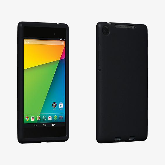 Estuche de silicona para Nexus 7 - Negro