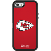 NFL Defender de OtterBox para Apple iPhone 5/5s - Kansas City Chiefs