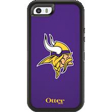NFL Defender de OtterBox para Apple iPhone 5/5s - Minnesota Vikings