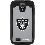 NFL Defender de OtterBox para Samsung Galaxy S4 - Oakland Raiders