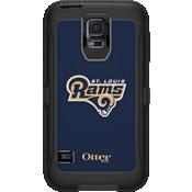 NFL Defender de OtterBox para Samsung Galaxy S5 - St. Louis Rams