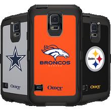 NFL Defender de OtterBox para Samsung Galaxy S5 - Denver Broncos