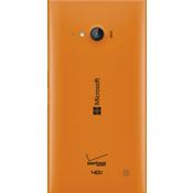 Tapa de la batería de carga móvil para Microsoft Lumia 735 - Anaranjado