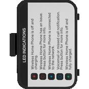 Tapa de la batería T2000 - Negro