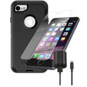 Paquete OtterBox Defender para iPhone 7