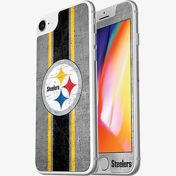 Protector de pantalla de vidrio NFL Alpha para iPhone 8/7/6s/6 - Pittsburgh Steelers