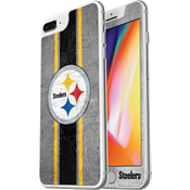 Protector de pantalla de vidrio NFL Alpha para iPhone 8 Plus/7 Plus/6s Plus/6 Plus - Pittsburgh Steelers