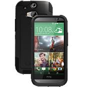 OtterBox Commuter Series para el nuevo HTC One (M8) - Negro