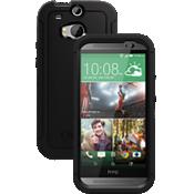 OtterBox Defender Series para el HTC One (M8) completamente nuevo - Negro