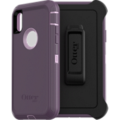 Protector Defender Series para el iPhone XR - Purple Nebula