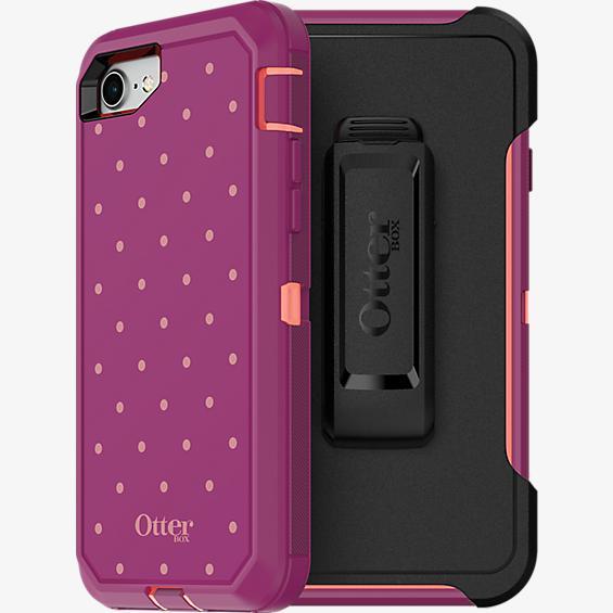 Defender Series para iPhone 8/7 - Coral con lunares