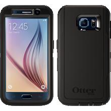 OtterBox Defender Series para Samsung Galaxy S 6 - Negro