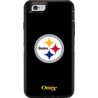 NFL Defender Series de OtterBox para iPhone 6/6s - Pittsburgh Steelers