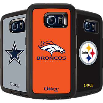 NFL Defender de OtterBox para Samsung Galaxy S 6 - Denver Broncos