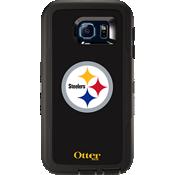 NFL Defender de OtterBox para Samsung Galaxy S 6 - Pittsburgh Steelers