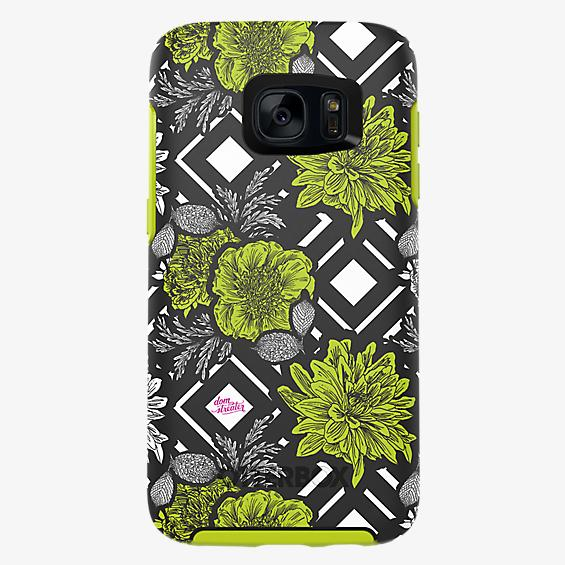Project Runway Symmetry Series para Samsung Galaxy S7 - Color Green Diamond