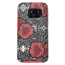 Project Runway Symmetry Series para Samsung Galaxy S7 - Color Pink Swirl