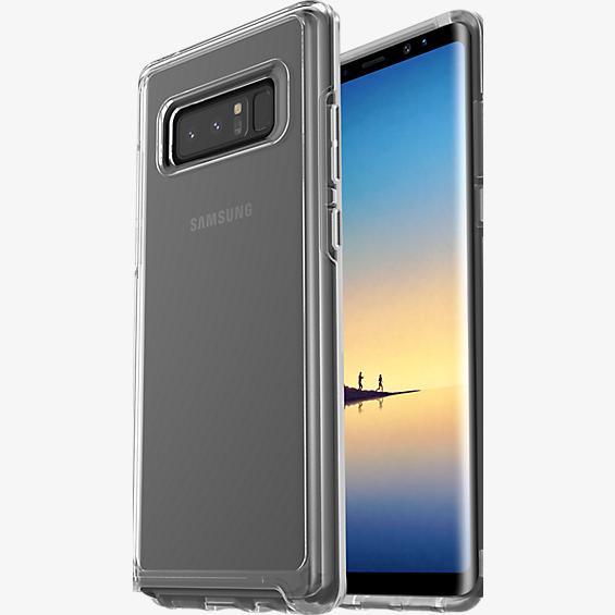 Estuche Symmetry Clear Series para Galaxy Note8