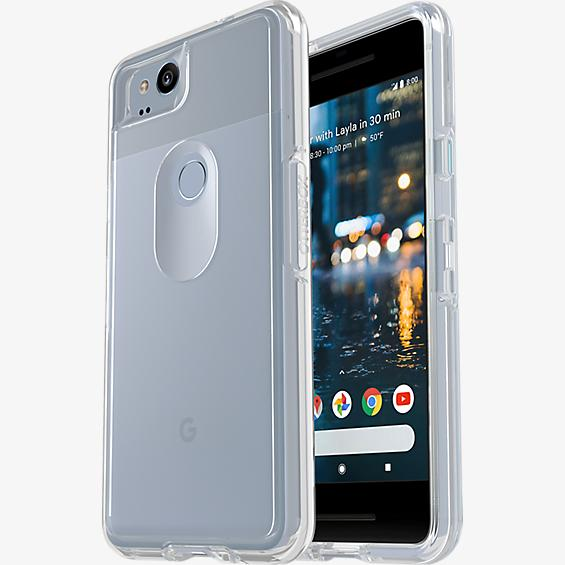 Estuche Symmetry Clear Series para el Pixel 2
