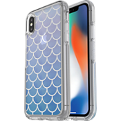 Protector Symmetry Clear Series para iPhone X - Color Mermaid Tail