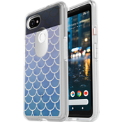 Carcasa Symmetry Clear Series para Pixel 2 XL - Color Mermaid Tail
