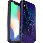 Protector Symmetry Series Marvel Avengers Black Panther para el iPhone X