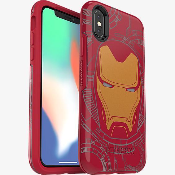 Carcasa Symmetry Series Marvel Avengers Iron Man para el iPhone XS/X