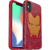 Protector Symmetry Series Marvel Avengers Iron Man para el iPhone X