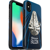 Protector Symmetry Series Solo: A Star Wars Story Millennium Falcon para el iPhone X
