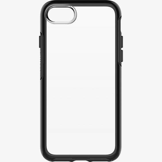 Estuche Symmetry Series transparente para iPhone 7 - Color Black Crystal