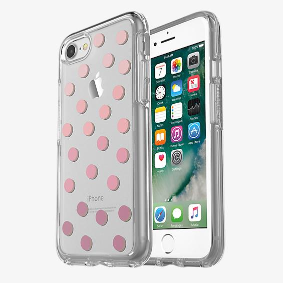 Estuche Symmetry Series transparente para iPhone 7 - Color Save Me a Spot