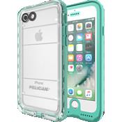 Estuche Marine para iPhone 7 - Verde azulado/Transparente