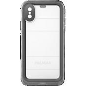 Estuche Marine para iPhone X - Negro/transparente