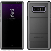 Carcasa protectora para Galaxy Note8 - Negro/Gris claro
