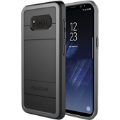 Estuche protector para Galaxy S8+ - Negro / Color Light Grey