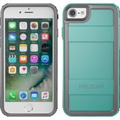 Estuche protector para iPhone 7 - Aguamarina/Gris