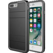 Estuche protector para iPhone 7 Plus/6s Plus/6 Plus - Negro/Color Light Grey